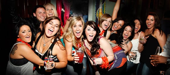 Nightcruiser Hens Party Ideas, Australia